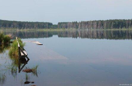 На озере Сысертском