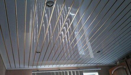 Панельный потолок