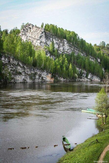 На реке Косьва