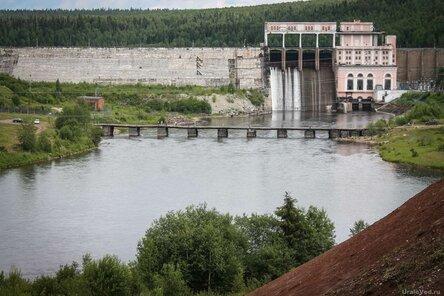 Плотина Широковской ГЭС